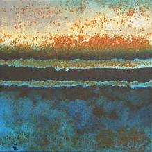 Rouille bleu horizon - Marie-Hélène Burgeat